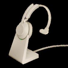 Jabra Evolve2 65 USB-A MS Mono Desk Stand Beige (26599-899-988)