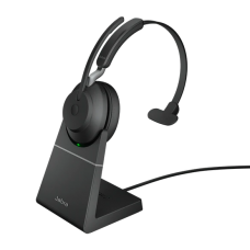 Jabra Evolve2 65 USB-A MS Mono Desk Stand Black (26599-899-989)