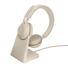 Jabra Evolve2 65 USB-A MS Desk Stand Beige (26599-999-988)