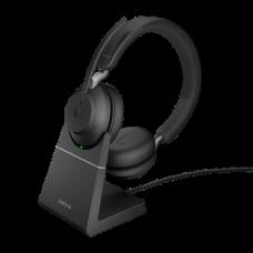 Jabra Evolve2 65 USB-A MS Desk Stand Black (26599-999-989)