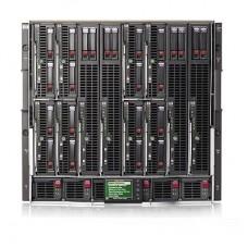 HP BLc7000 Rack (Шасі до 16 шт.BL-серверів) 2шт.AC (Блок живлення) 4шт.Fan (Венти