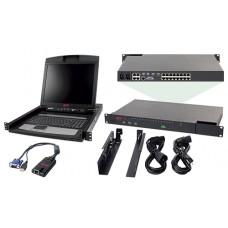 Комплект з IP-комутатора APC KVM-BN001