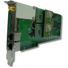 GSM плата Portech DuMV @ PCI