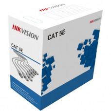Кабель Hikvision DS-1LN5E-E 24AWG (UTP-cat.5E) (305 м)
