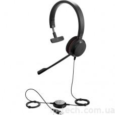 Гарнітура Jabra EVOLVE 20 UC Stereo USB (4999-829-209)