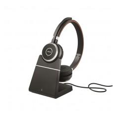 Jabra Evolve 65 Stereo MS + База для зарядки (6599-823-399)